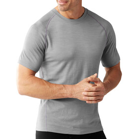 Smartwool M's Merino 150 Pattern SS Baselayer Light Gray